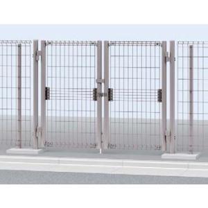 門扉 メッシュ門扉 イーネット門扉1型 両開き門柱タイプ 08-10 YKKapエクステリア|kantoh-house