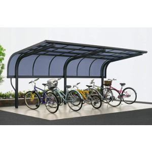 サイクルポート 自転車置場 サイクルキャップ 基本 3121 YKK|kantoh-house