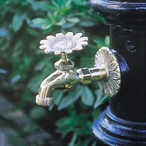 アニマル蛇口 ヒマワリ(真鍮色)ガーデン 水回り|kantoh-house
