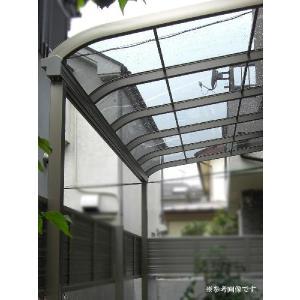 アルミテラス屋根 サンライズテラス屋根 2.0間4尺 ロング柱 エクステリア HONDALEX|kantoh-house