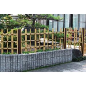 グローベン 楽塀ユニット5型B 四ツ目垣H600基本|kantoh-house