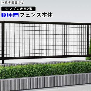 フェンス レスティナフェンス2型 T100 本体 YKK ap 送料無料地域有り