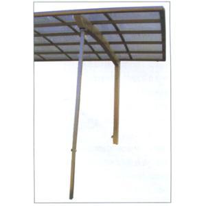 カーポート サポート柱 着脱式 ロング柱用 2本入 HONDALEX カーポート用サポート柱 補助支柱|kantoh-house
