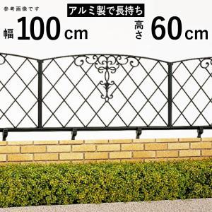 フェンス 鋳物 ロートアイアン調 ガーデン 三協アルミ キャスリート1型 本体 地域限定送料無料|kantoh-house