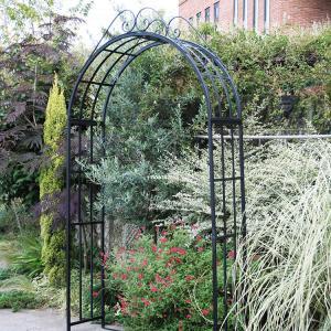 庭やアプローチの演出にバラ等のつる性植物に最適なガーデンアーチ タイプG|kantoh-house