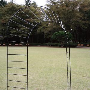 庭やアプローチの演出におしゃれなデザインのガーデンアーチ タイプJ|kantoh-house