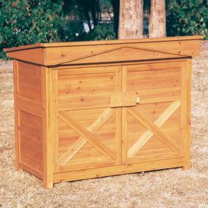 物置 木製物置 収納庫 収納 庭の物入れ 平型|kantoh-house
