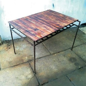 テーブル カフェテーブル アンティーク テーブル ヴィンテージ カフェ テーブル L|kantoh-house