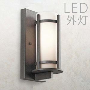 玄関照明 外灯 おしゃれ 屋外 玄関 照明 LED 照明器具 ウォールライト ポーチライト アンティーク風 レトロ 和モダン|kantoh-house