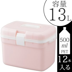 クーラーボックス ピンク 容量13L 500mlペットボトル12本収納 クーラーバッグ クーラーBOX ミニ 保冷バッグ  【1万円以上お買い上げで送料無料】|kantoh-house