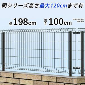 メッシュフェンス 国内一流メーカー品 ネットフェンス 本体 T100 シンプルメッシュフェンス3 お買い上げ合計1万円以上で地域限定送料無料|kantoh-house