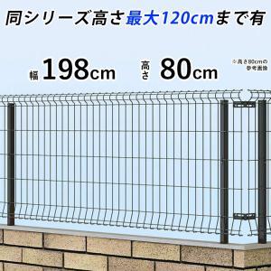 メッシュフェンス 国内一流メーカー品 ネットフェンス 本体 T80 シンプルメッシュフェンス3|kantoh-house