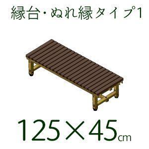 縁台 樹脂 濡れ縁 ぬれ縁 タイプ1 日本製  45×125cm|kantoh-house