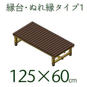 縁台 樹脂 濡れ縁 ぬれ縁 タイプ1 日本製  60×125cm|kantoh-house
