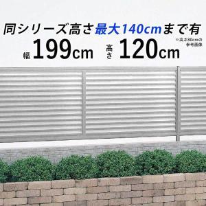 目隠しフェンス シンプルルーバーフェンス T120 本体 国内一流メーカーフェンス|kantoh-house