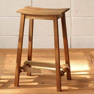 スツール イス 木製イス 椅子 アンティーク 北欧 カフェ おしゃれ ガーデンファニチャースツールL|kantoh-house