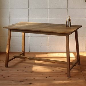 テーブル つくえ 木製机 机 アンティーク おしゃれ デザイン ガーデンファニチャーテーブル|kantoh-house