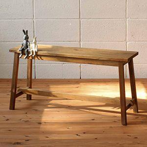 ベンチ 椅子 木製椅子アンティーク おしゃれ デザイン ガーデンファニチャーベンチ|kantoh-house