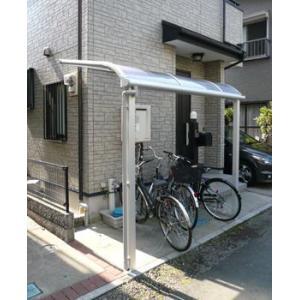 アルミテラス屋根 ヴェクターテラス屋根 YKK アール型 1.0間2尺 柱標準タイプ 600N エクステリア|kantoh-house
