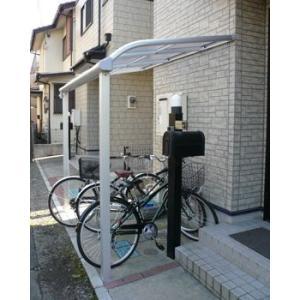 アルミテラス屋根 ヴェクターテラス屋根 YKK アール型 1.5間6尺 柱標準タイプ 600N エクステリア 自転車置き場としても活躍 kantoh-house