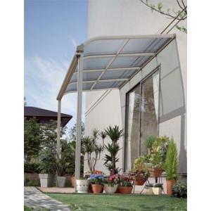 アルミテラス屋根 ヴェクターテラス屋根 YKK アール 2.0間4尺 柱標準タイプ 600N エクステリア|kantoh-house