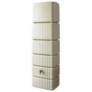 雨水タンクで節約エコ生活。雨水利用で節水しませんか。  ・背が高くスリムなデザインです。 ・約300...