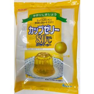 かんてんぱぱ カップゼリー80℃ グレープフルーツ味 (約6人分X5袋入)