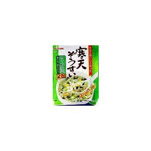 かんてんぱぱ 寒天ぞうすい のり・野沢菜 22.8g 10個セット