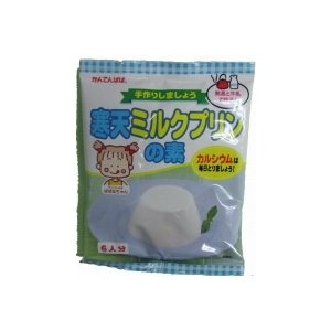 かんてんぱぱ  寒天ミルクプリンの素 105g(約6人分)