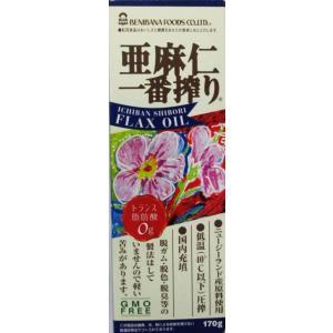 紅花食品  亜麻仁一番搾り170g 3個