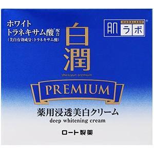 肌ラボ 白潤プレミアム 薬用浸透美白クリーム 50g 2個 医薬部外品 ロート製薬