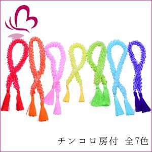 七五三 髪飾り 907815 チンコロ房付 全7色 日本製 753 通販 女の子 女児 こども 子供 キッズ|kanzashi