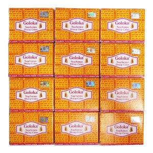 ナグチャンパ香 お香 コーンタイプ GOLOKA ゴロカ 12個セット|kaori-market