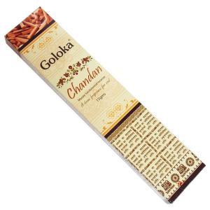 チャンダン香 お香 GOLOKA ゴロカ スティック|kaori-market