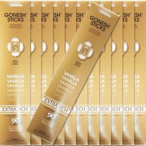 GONESH ガーネッシュ VANILLA バニラ お香 スティックタイプ 12個セット|kaori-market