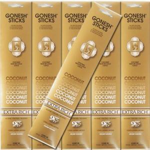 GONESH ガーネッシュ Coconut ココナッツ お香 スティックタイプ 6個セット|kaori-market