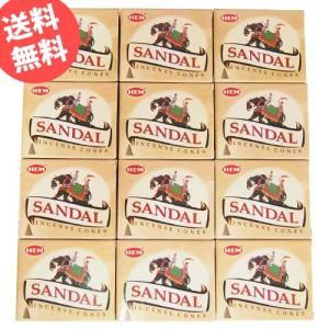 お香 サンダル コーン アロマ 12箱セット HEM ヘム|kaori-market