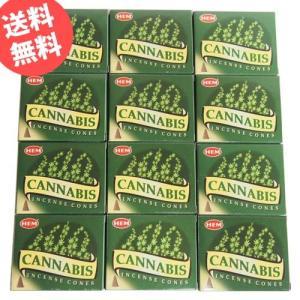 お香 カンナビス コーン アロマ 12箱セット HEM ヘム|kaori-market