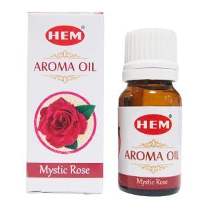 HEM アロマオイル ミスティックローズ 薔薇 お香 ヘム 10ml フレグランスオイル|kaori-market