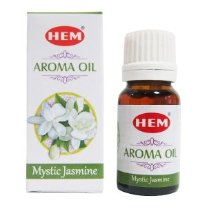 HEM アロマオイル ミスティックジャスミン お香 ヘム 10ml フレグランスオイル|kaori-market