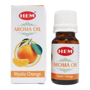 HEM アロマオイル ミスティックオレンジ お香 ヘム 10ml フレグランスオイル|kaori-market
