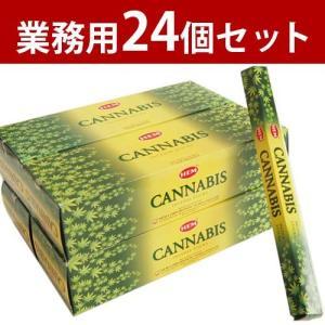 お香 カンナビス アロマ HEM ヘム スティック 24個セット 業務用 卸し|kaori-market