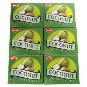 お香 ココナッツ コーン アロマ HEM ヘム 6箱セット|kaori-market