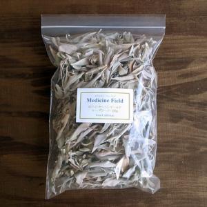 ホワイトセージ 浄化 無農薬 ゴールド ルーズリーフ100g|kaori-market