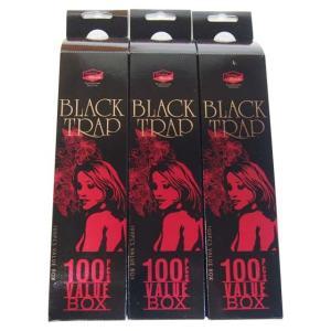 ブラックトラップ お香 スティック 100本入り 3箱セット アロマブレンズ|kaori-market