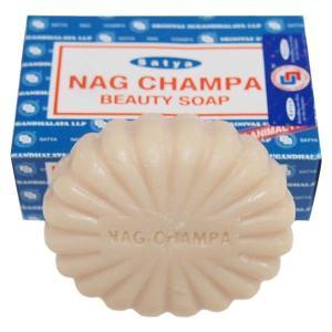 ナグチャンパ ビューティーソープ 石鹸 SATYA 75g|kaori-market