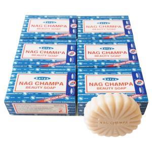ナグチャンパ ビューティーソープ 石鹸 SATYA 75g 6個セット|kaori-market