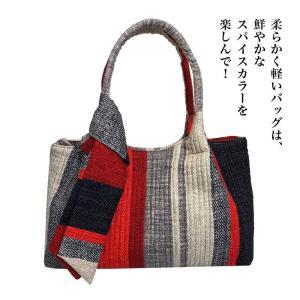 トートバッグ バッグインバッグ 色鮮やか カラフル made in korea 軽量 軽い 大きめ フォーマル kaoru-shop
