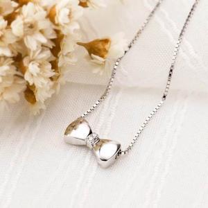 ネックレス 蝶 シルバー レディース 誕生日 女性 記念日 結婚 お祝い プレゼント 縁起物 バレンタイン ギフト|kaoru-shop