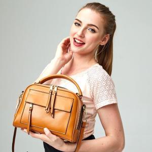 2way レディースバッグ  ハンドバッグ 本革 女性 ショルダーバッグ 鞄  カジュアル 通勤 通学 レザー 革 バッグ 斜め掛け|kaoru-shop